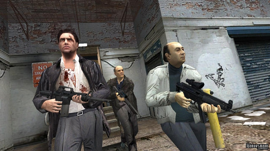max payne 2001 gameplay
